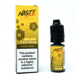 CUHS MAN SALT 10ML TPD - NASTY JUICE